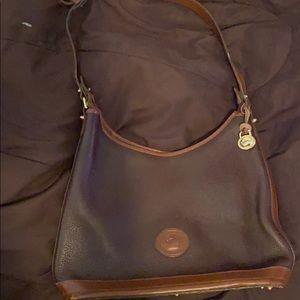 D&B brown shoulder bag